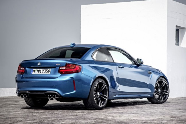 Фото новой BMW M2 Coupe (2015-2016)