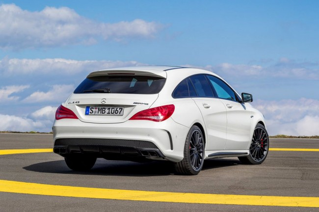Фото нового CLA 45 AMG Shooting Brake