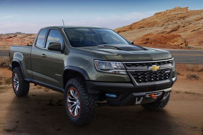 Фото концепта Chevrolet Colorado ZR2