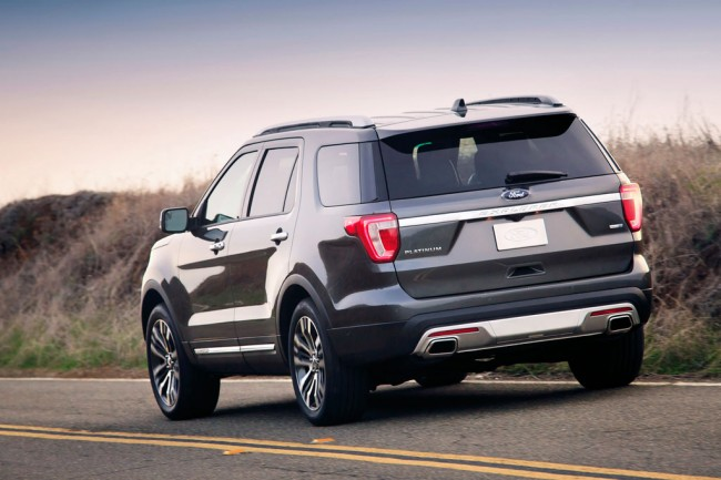 Ford Explorer 2016 фото