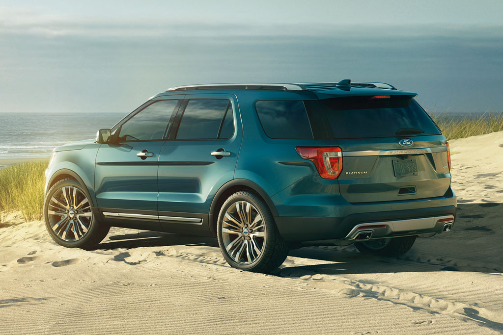 Новый Ford Explorer Platinum