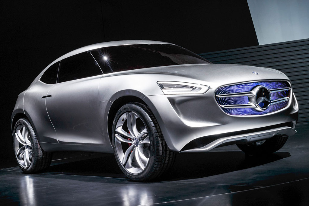 Mercedes G-Code Vision Concept