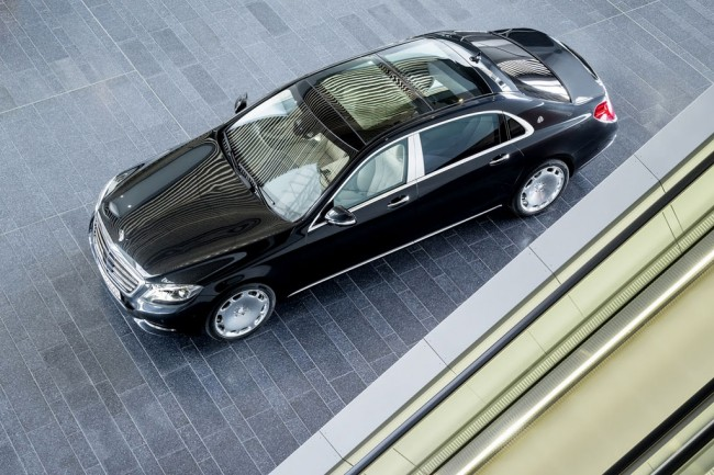 Mercedes-Maybach S600 фото