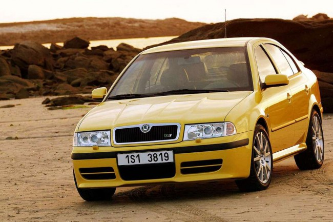 Skoda Octavia RS Tour