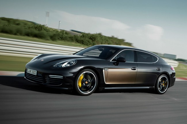 Porsche Panamera Turbo S Exclusive Series фото