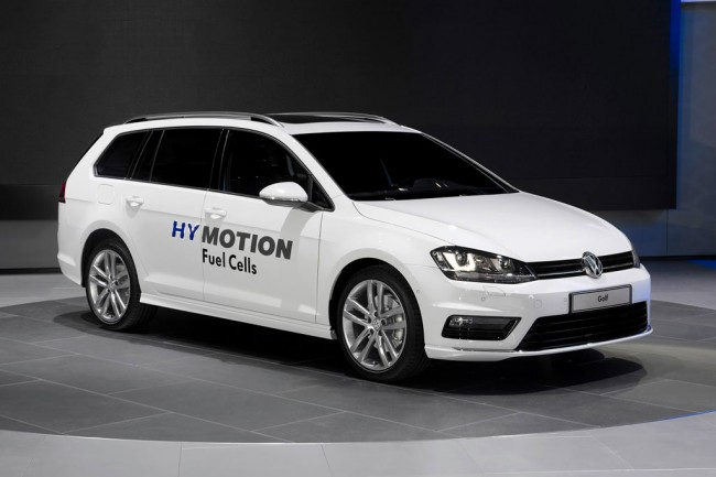 VW Golf SportWagen HyMotion фото