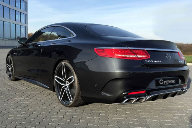 Фото тюнинг Mercedes S63 AMG Coupe от G-Power