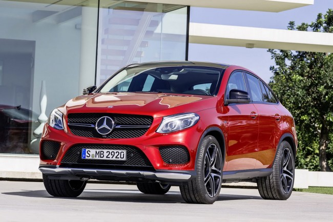 Mercedes GLE 450 AMG Sport Coupe фото