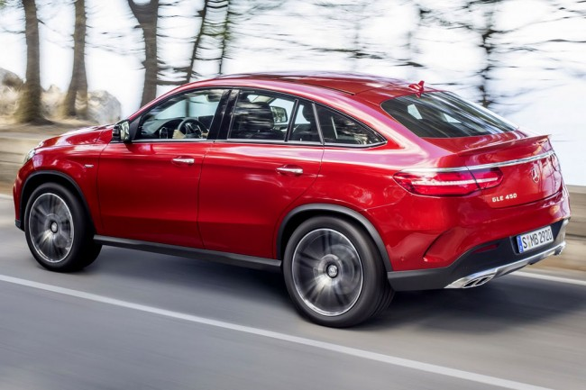 Mercedes-Benz GLE 450 AMG Sport Coupe