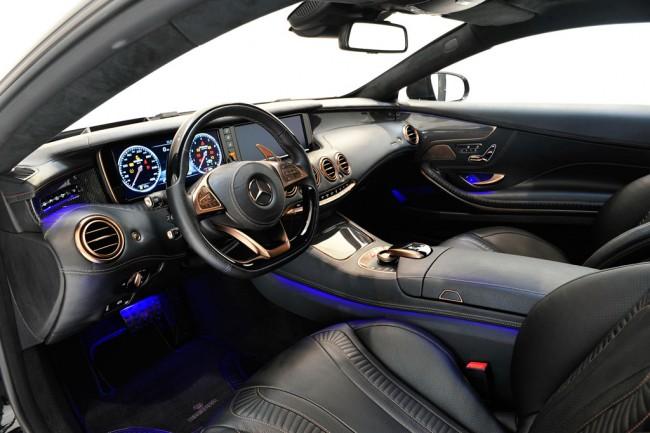 Самое мощное в мире полноприводное купе Brabus 850 6.0 Biturbo