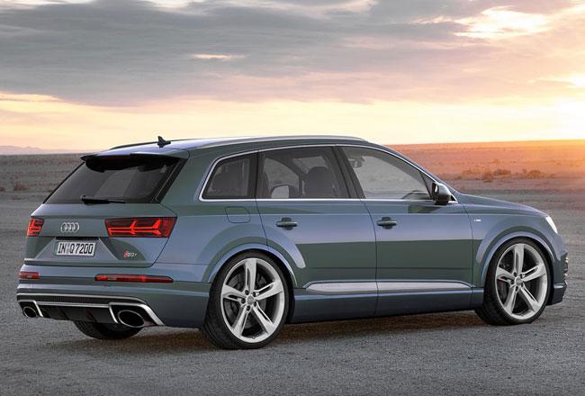 Начались работы над созданием заряженного Audi Rs Q7