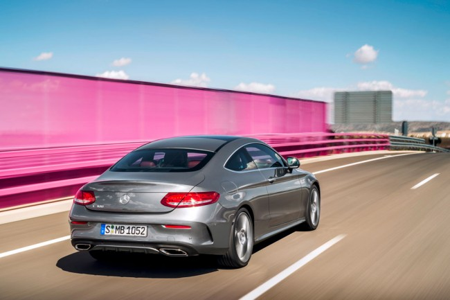 Mercedes-Benz C-Class Coupe 2016 фото