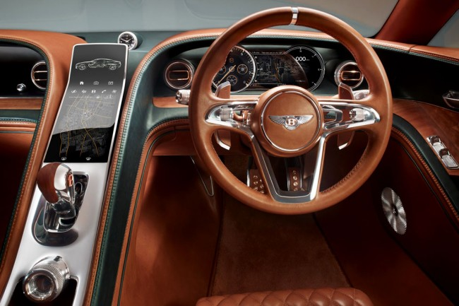 Фото салона Bentley EXP 10 Speed 6