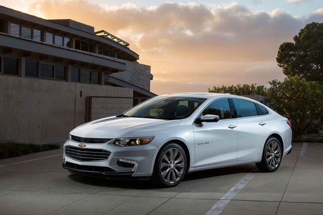 Chevrolet malibu 2017 года: новый седан девятой генерации.
