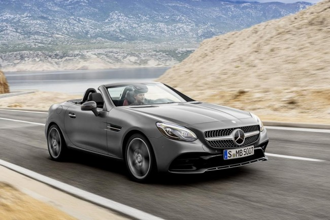 Mercedes-Benz SLC фото