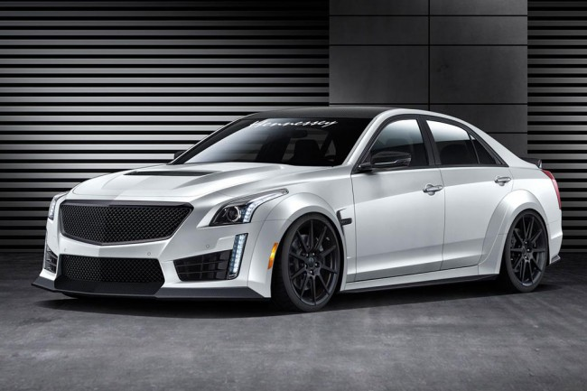 Cadillac CTS-V от Hennessey