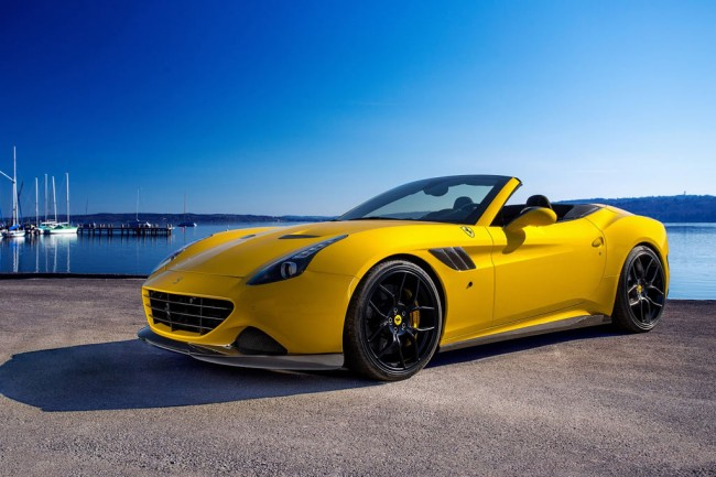 Ferrari California T от ателье Novitec Rosso