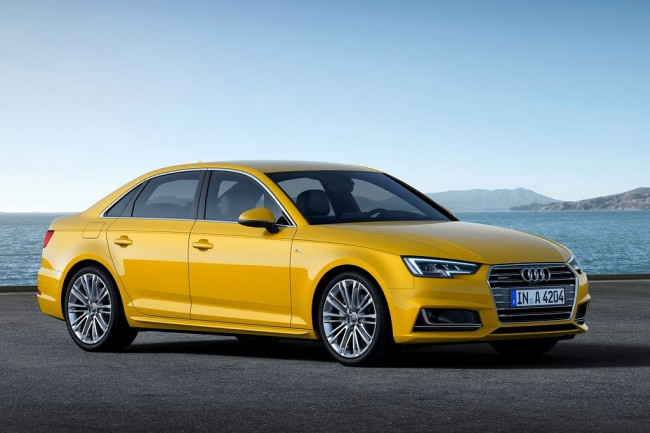 Новая Audi A4 B9 2016