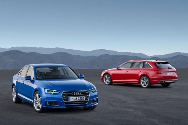 Audi A4 B9 new 2016
