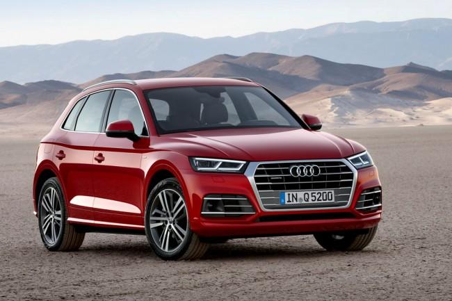 Новый Audi Q5 II поколения
