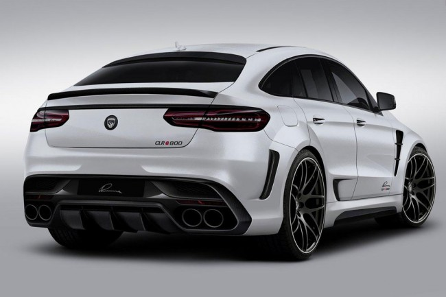 Диски на Mercedes GLE Coupe от Lumma