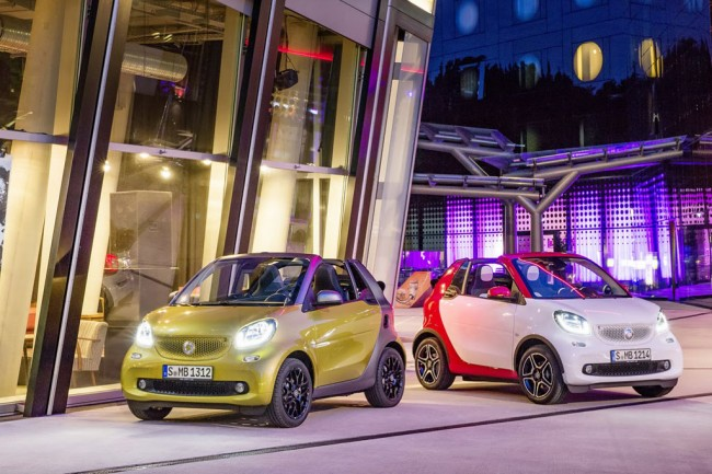 Smart ForTwo кабриолет 2016 фото