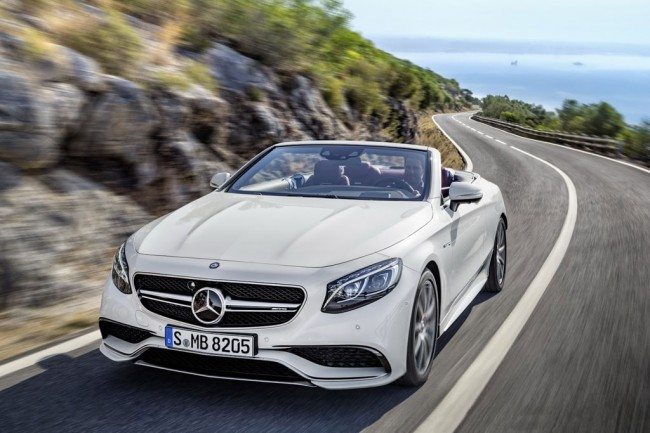 Mercedes S63 Cabriolet фото
