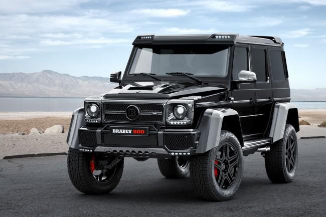 В Brabus поработали над внедорожником Mercedes G500 4×4