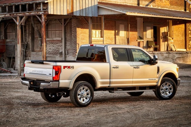 Ford F-350 Super Duty 2017 фото