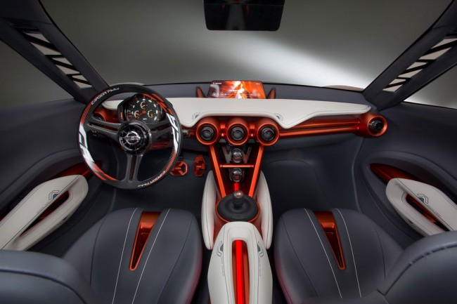 Фото салона Nissan Gripz Concept
