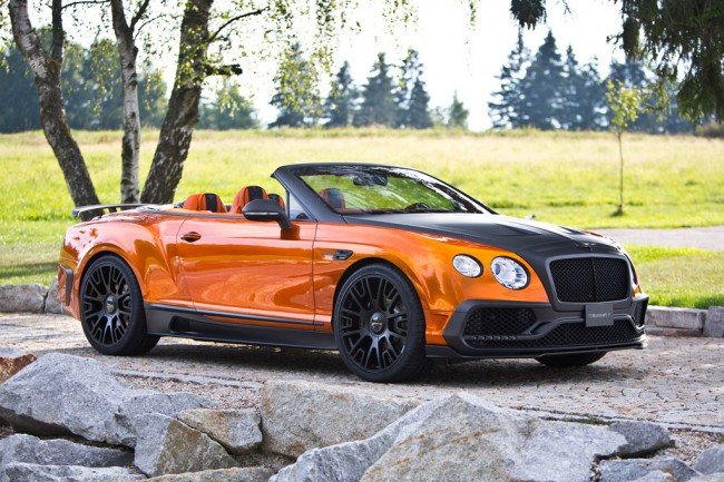В ателье Mansory прокачали Bentley Continental GTC
