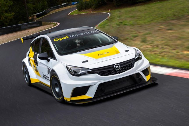 Opel Astra TCR фото