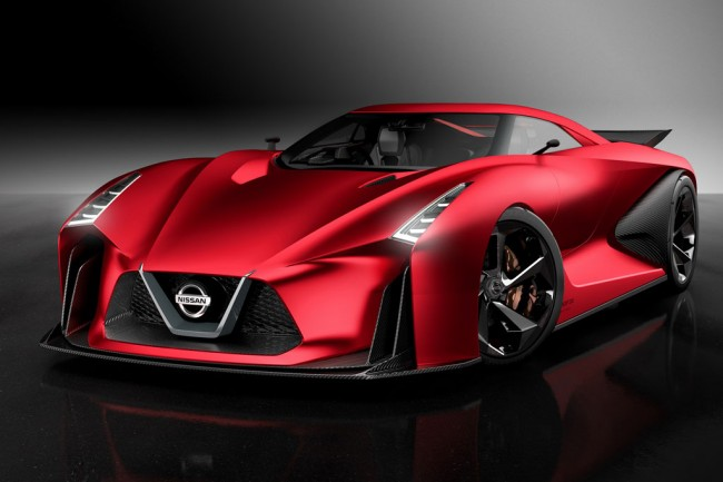 Nissan Concept 2020 Vision GT фото