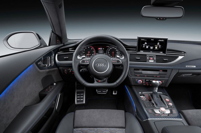 Фото салона Audi RS7 Sportback performance