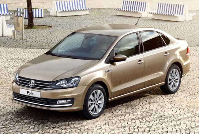 Volkswagen Polo Sedan обзавелся новым движком