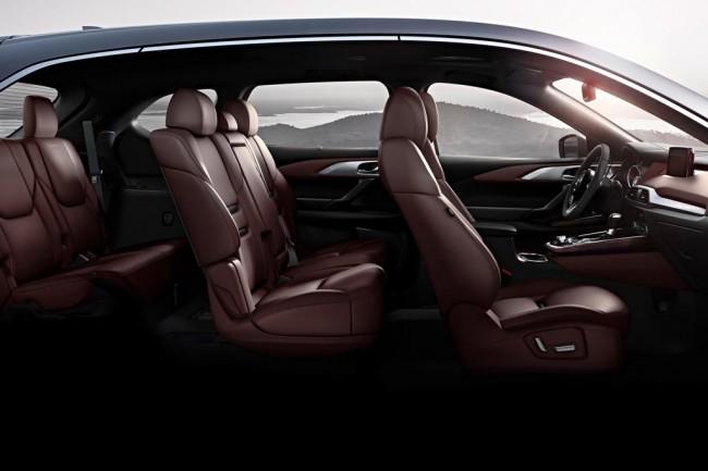 Интерьер Mazda CX-6 New