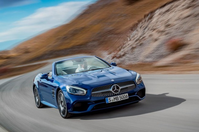 Mercedes-Benz SL 2016 фото