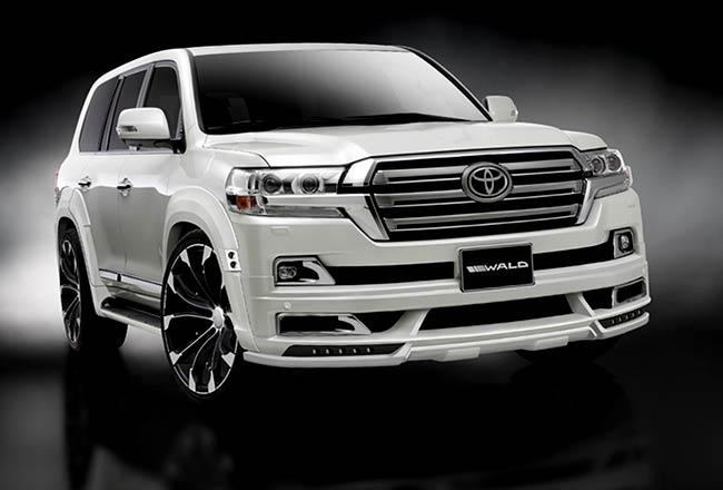 Toyota Land Cruiser в обвесе от Wald International