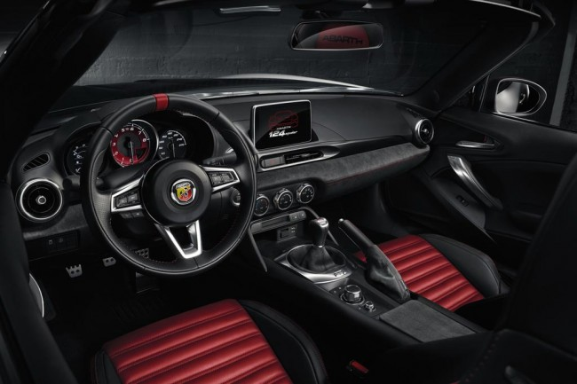 Фото салона Abarth 124 Spider