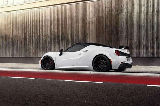 Обвес для Alfa Romeo 4C от Pogea Racing