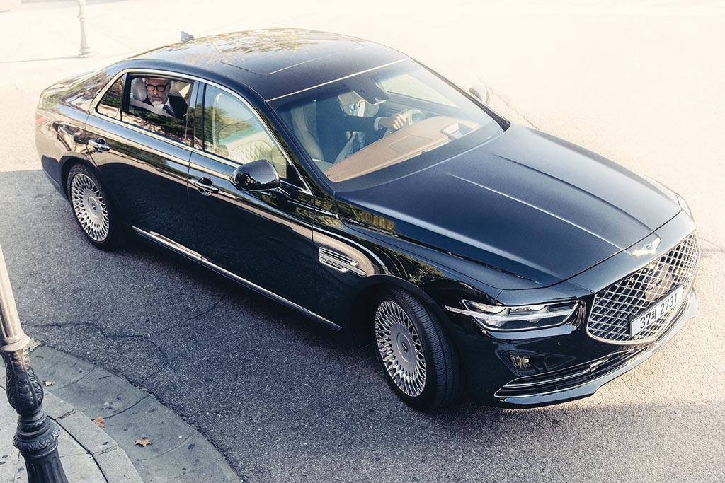 Genesis G90 2018 2019 фото цена новый кузов характеристики