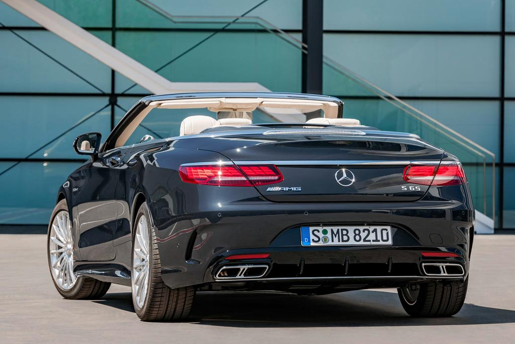 Mercedes-AMG S 65 Cabriolet 2018