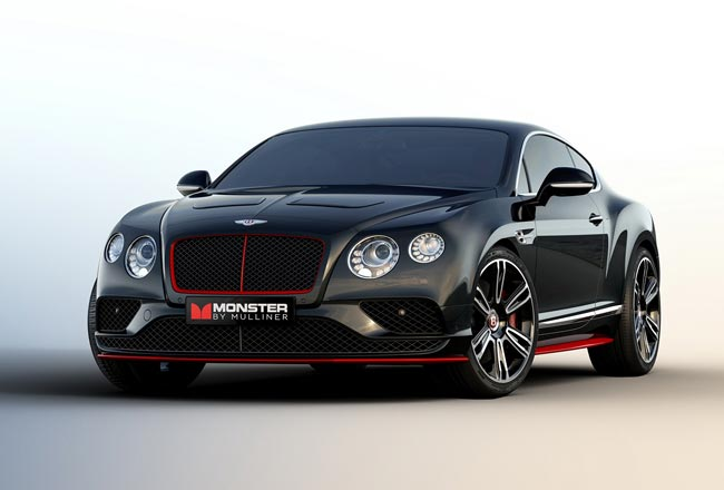 Bentley Continental GT с музыкой Monster Cable
