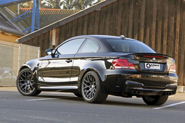 Фото тюнинг BMW 1-Series M Coupe от Alpha-N
