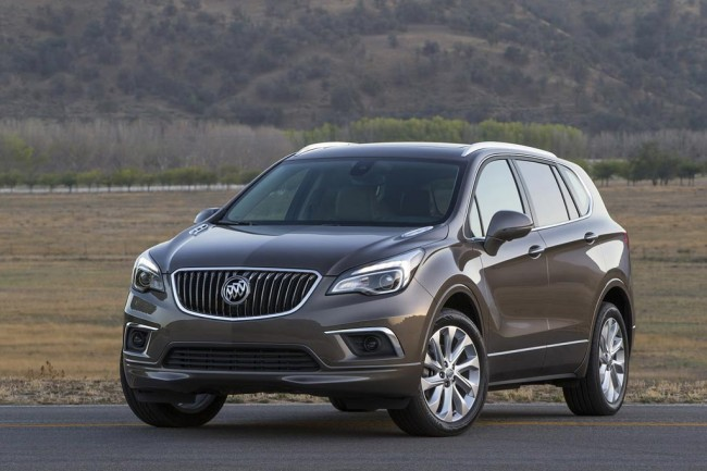 Кроссовер Buick Envision