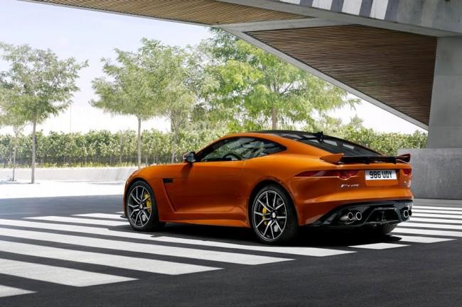 Jaguar F-Type SVR Coupe