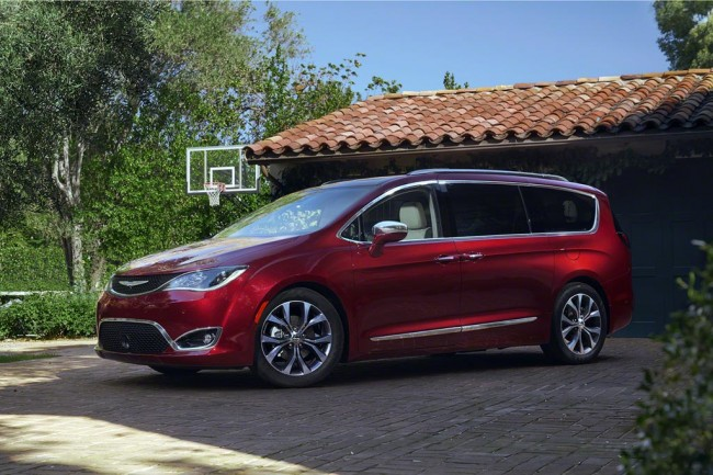 Chrysler Pacifica 2017 фото