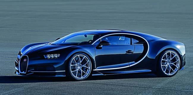 Новый гиперкар Bugatti Chiron пришел на смену модели Veyron