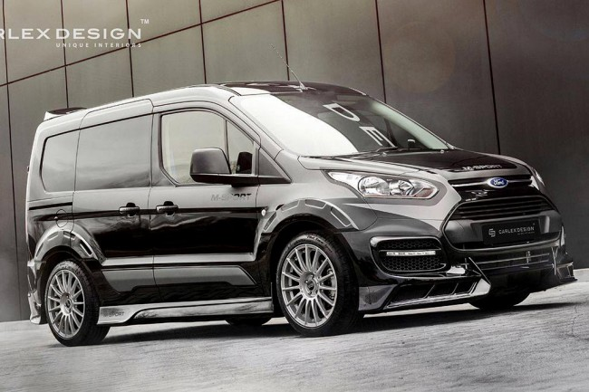 Ford Transit Connect от ателье Carlex Design
