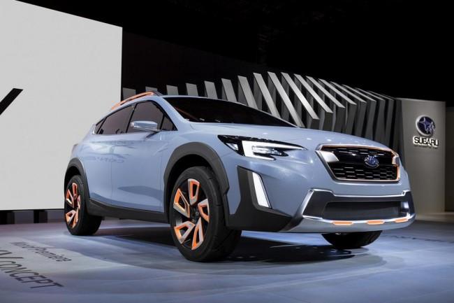 В Женеве показали предвестника нового Subaru XV